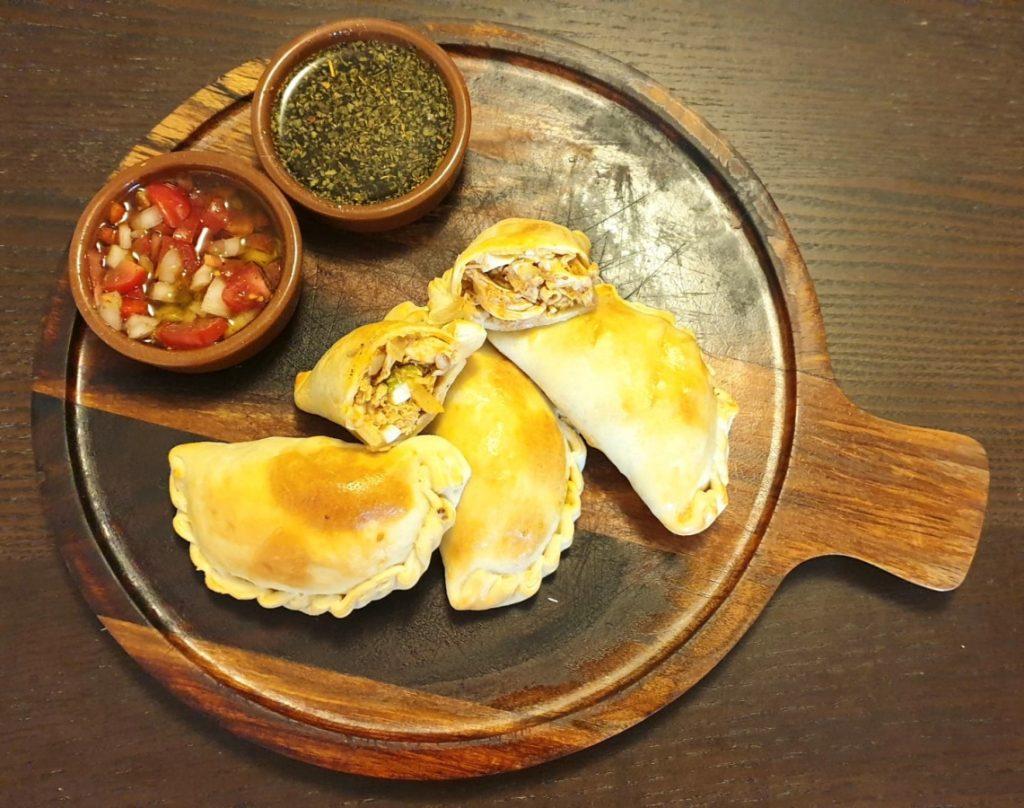 Bretten-Empanada-Essen
